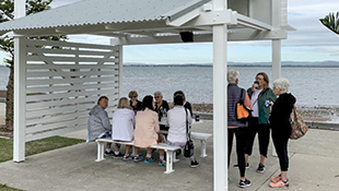 Picnic Shelters Renovated for Local Community