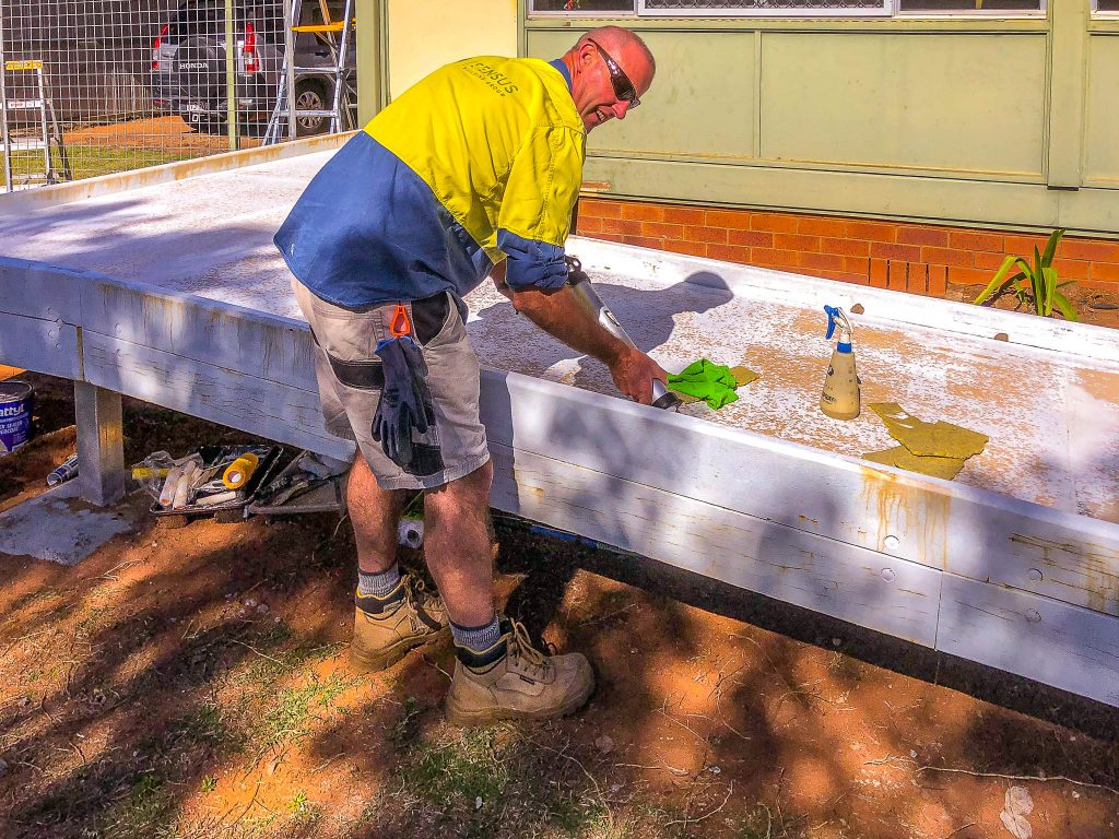 Sensus Employee Construction Wheelchair Ramp Chinchilla Regional Queensland Tradie Tradesperson Tradesman Project Manager