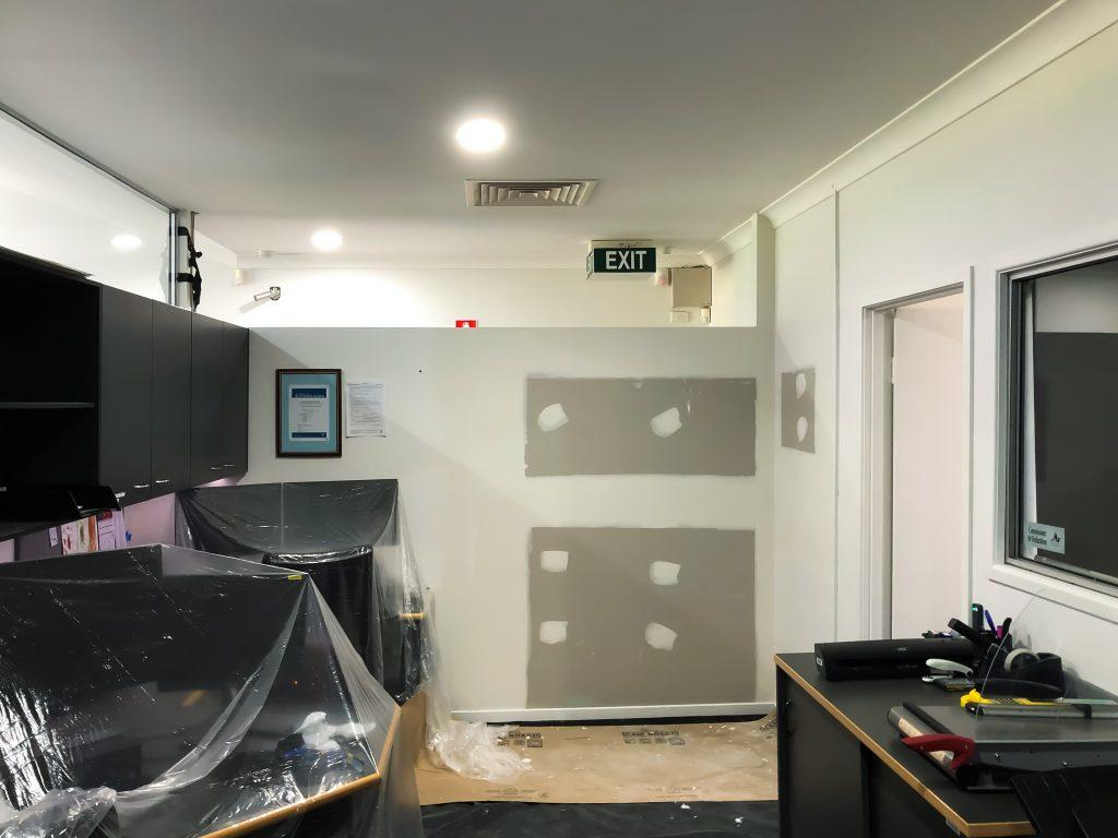 Suncoast Christian College Construction Education Builder Tradie Renovation Construction In Progress Internal Works Sunshine Coast