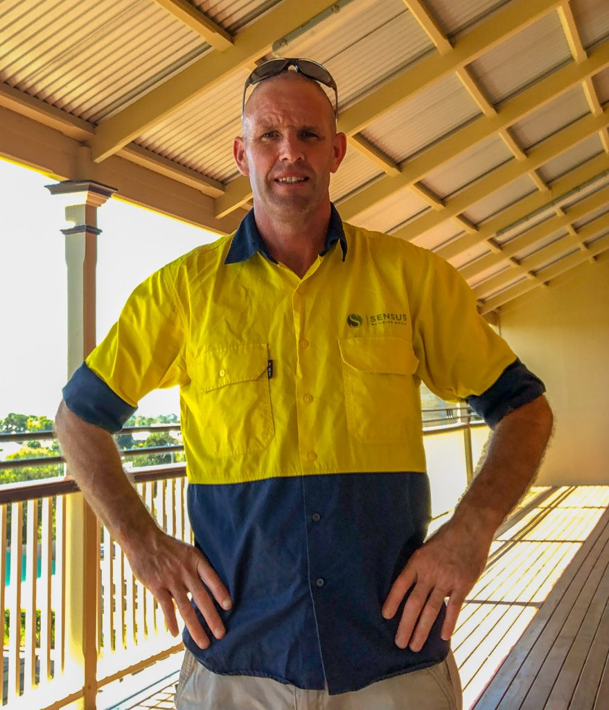 Tradie Tradesperson Tradesman Construction Project Manager Builder Sensus Employee Sunshine Coast Gympie