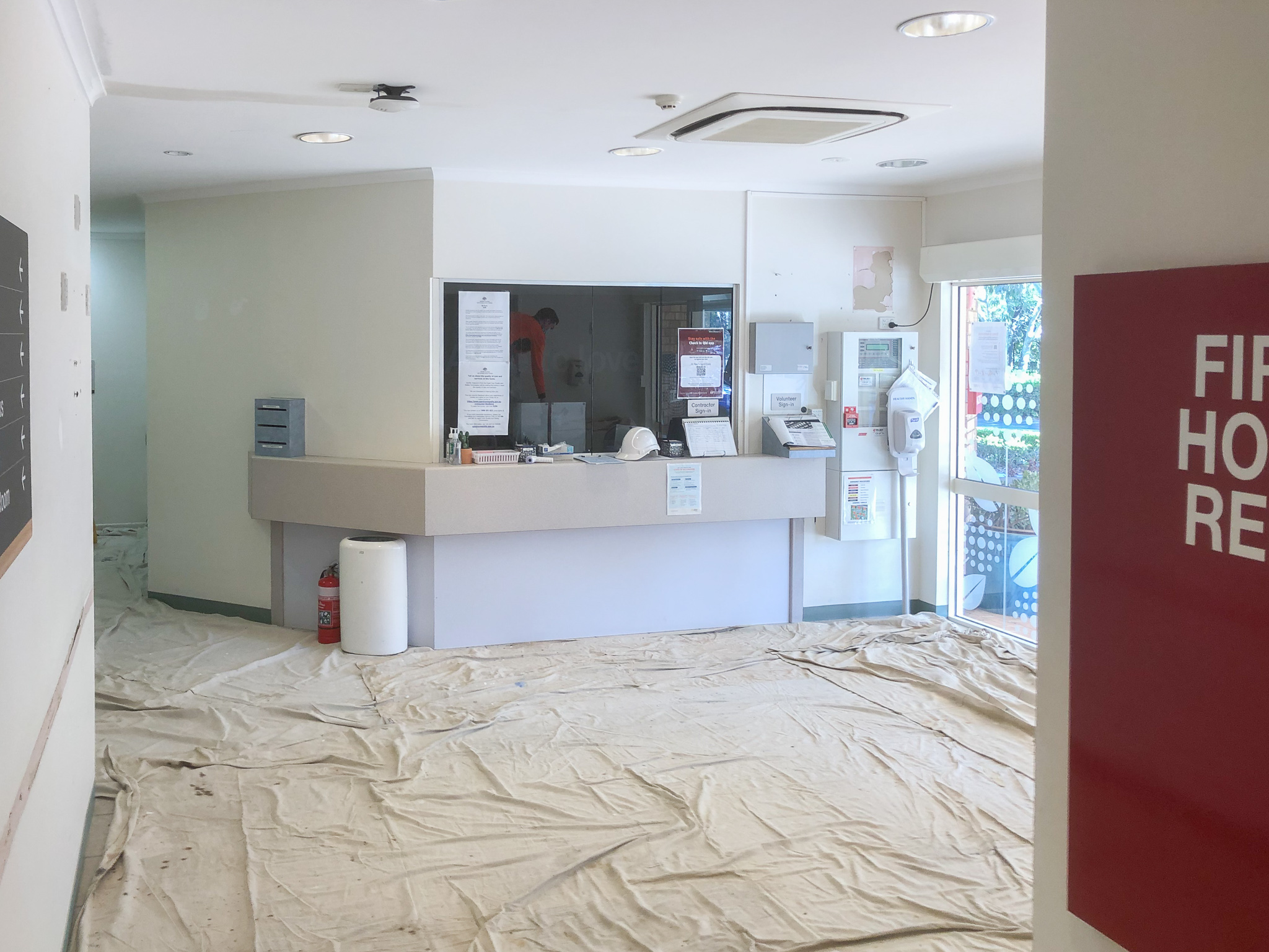 Admin-Aged-Care-Safety-Covering-Renovation