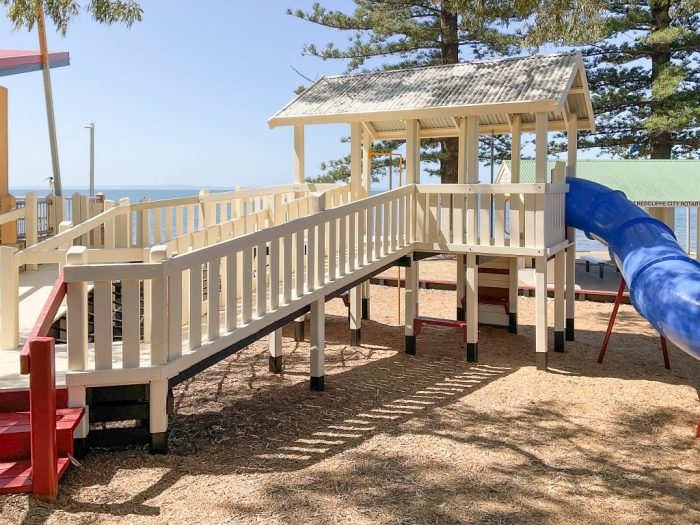 Council-Works-Painting-Playground-Education-Redcliffe-Moreton-Bay