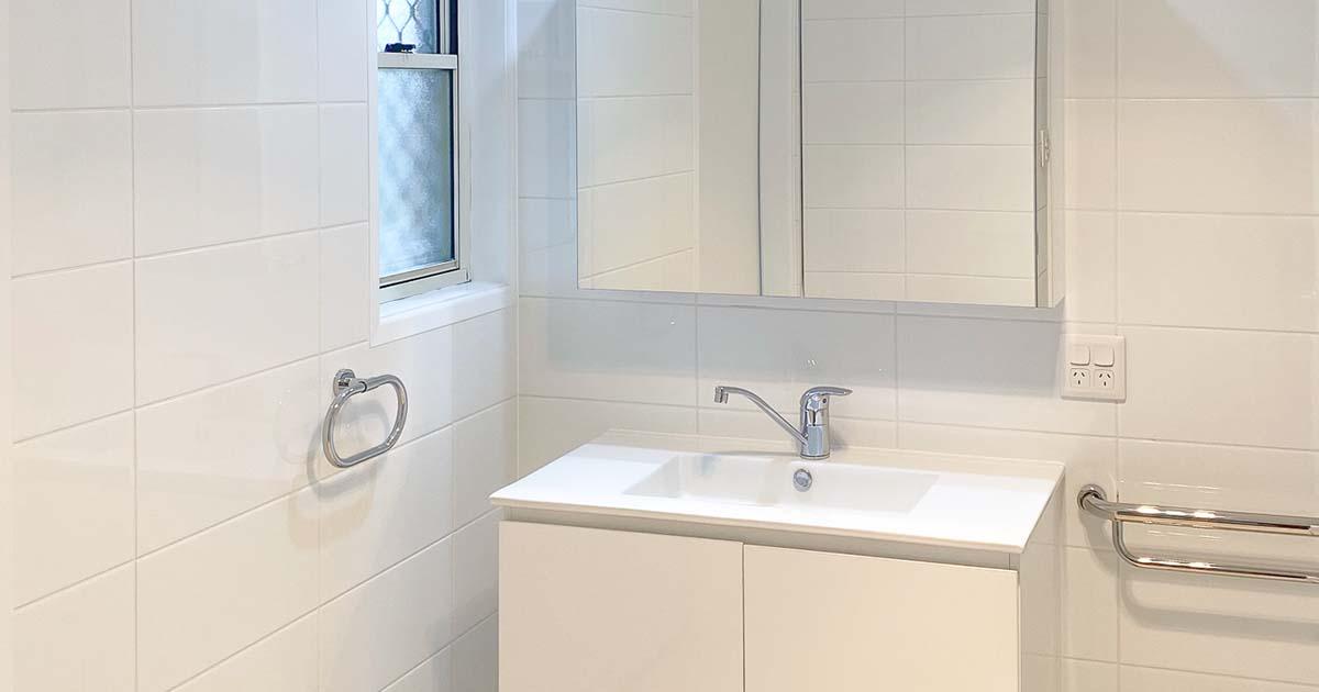 Sparkling New Bathroom Vanity